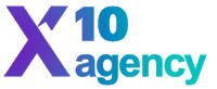 x10 agency logo